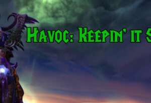 Havoc rotation for World of Warcraft