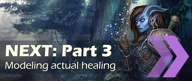 Simulate healers - part 3 - healing rotation