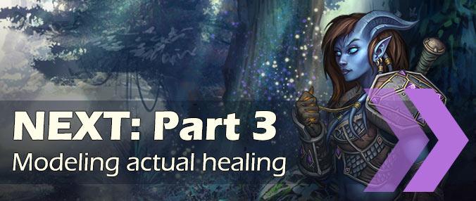 Simulate healers - part 3 - healing rotation