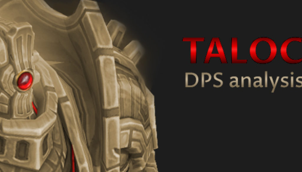 Taloc guide to analyzing DPS