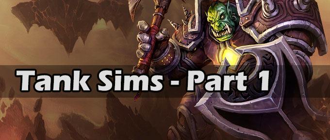 Tank sims - survivability part 1