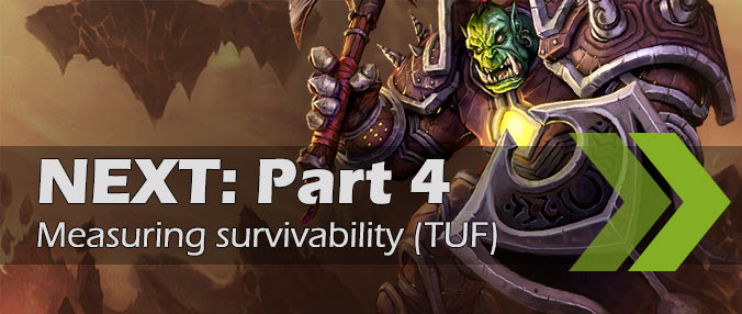 Tank simulations for BfA - Part 4 - metrics TUF