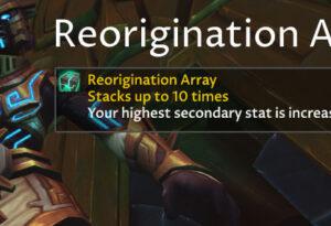 Reorigination Array Guide