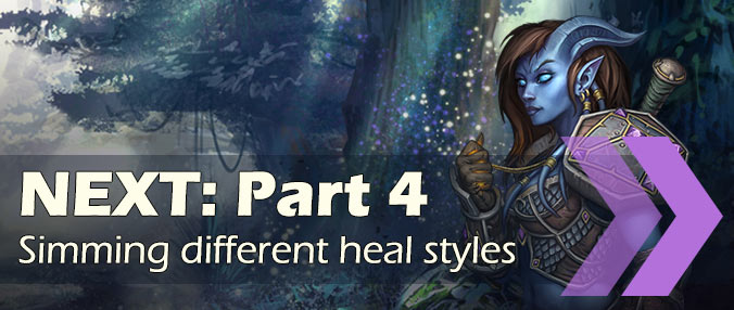 Simming healers BFA - part 4