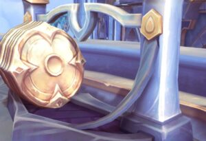Gold shields in Warcraft
