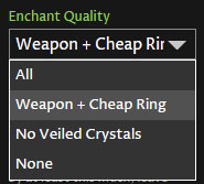 Weapon enchants