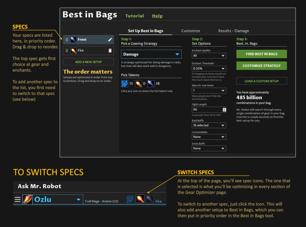 WoW Classic: Best in Bags Setup