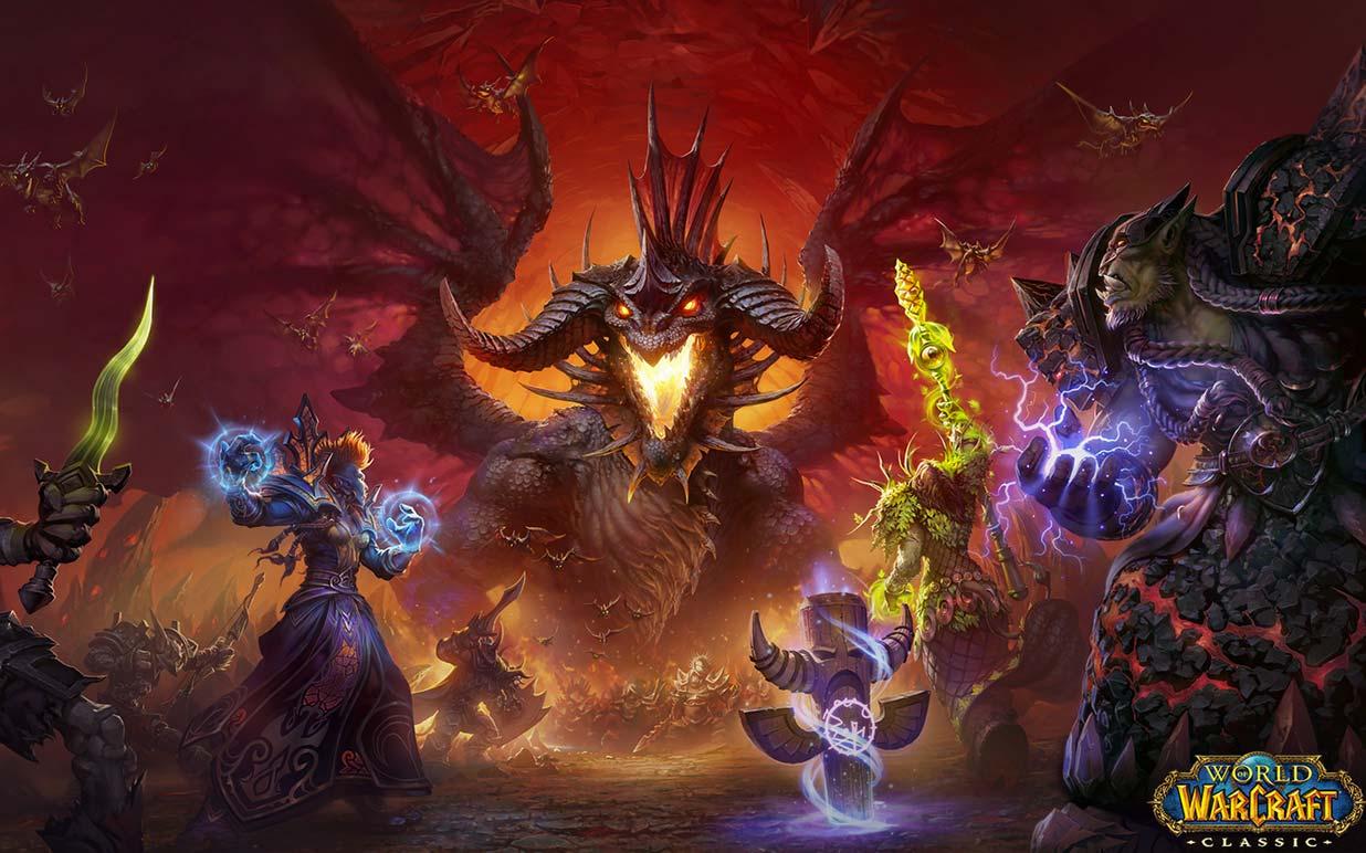 Warcraft classic artwork