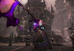 A warlock in orgrimmar
