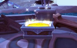 a treasure chest in Shadowlands