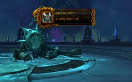 How to craft a legendary with the Runecarver in Shadowlands